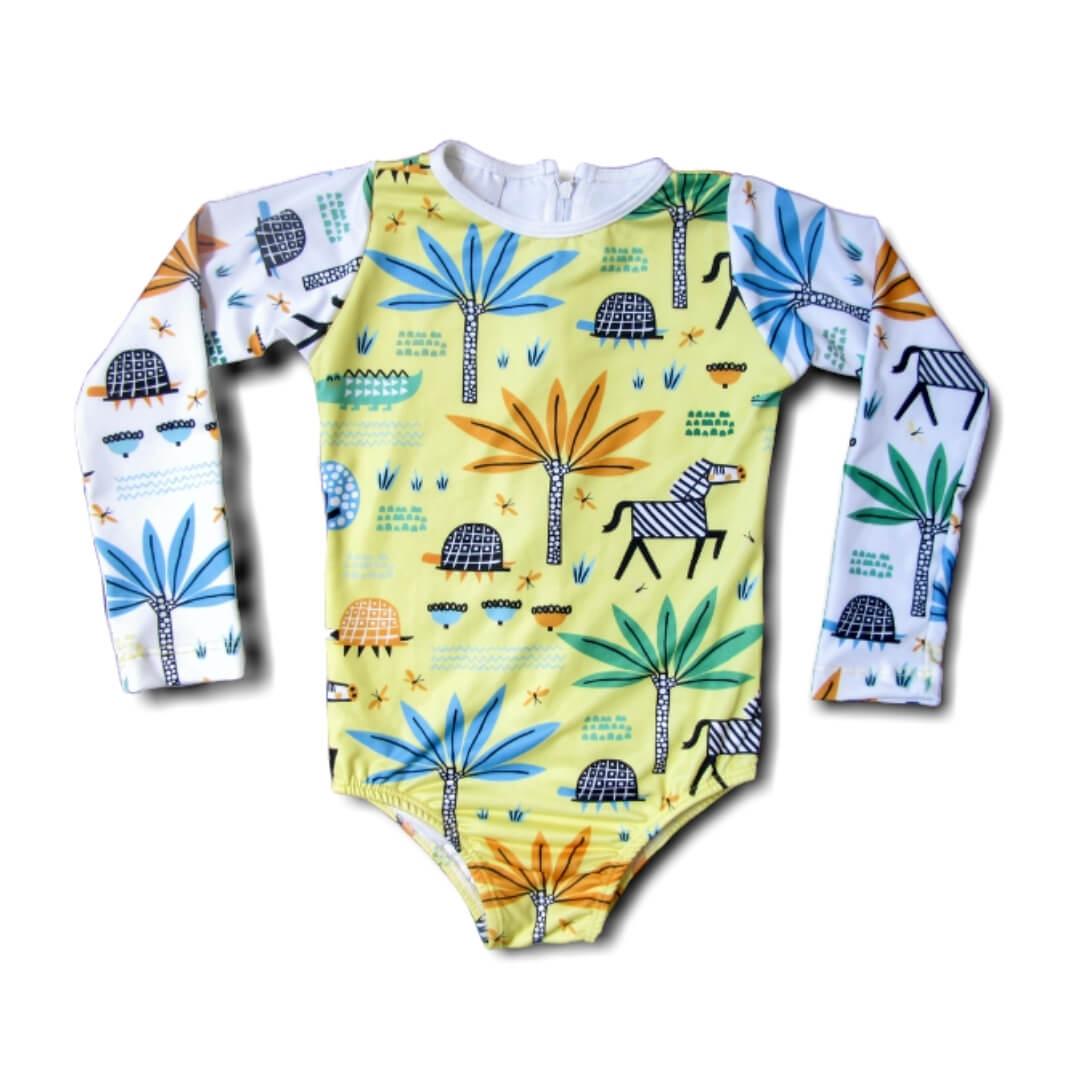 Maiô Infantil Proteção Solar - Safari