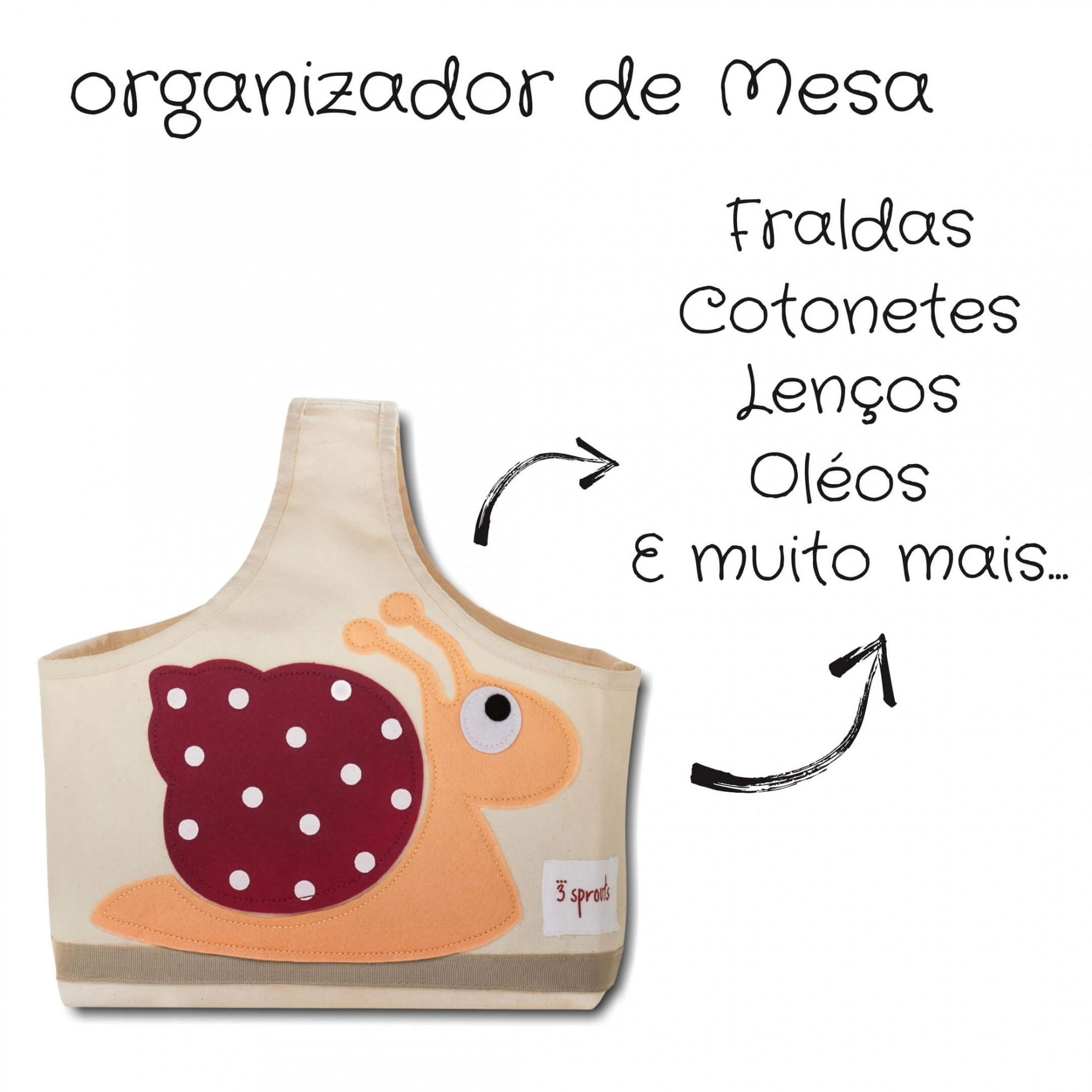 Organizador de Fraldas para Bebês Caramujo Divertido