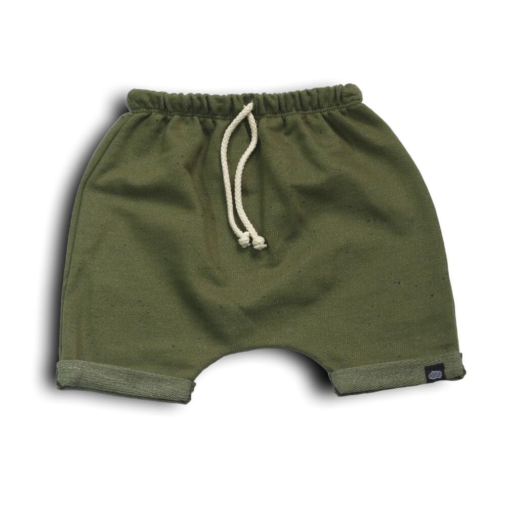 Short Infantil Verde