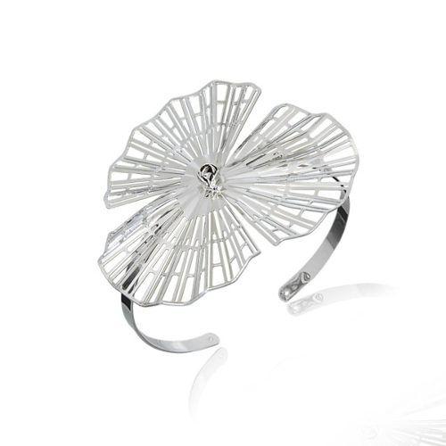 Bracelete Le Diamond Florisa Prateado
