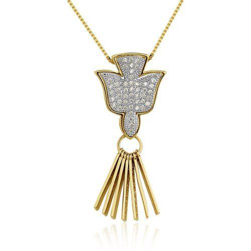 Colar Le Diamond Espirito Dourado