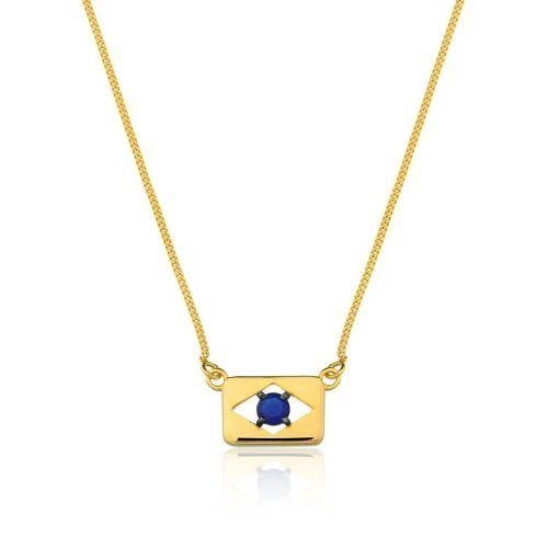 Colar Le Diamond Brasil Azul
