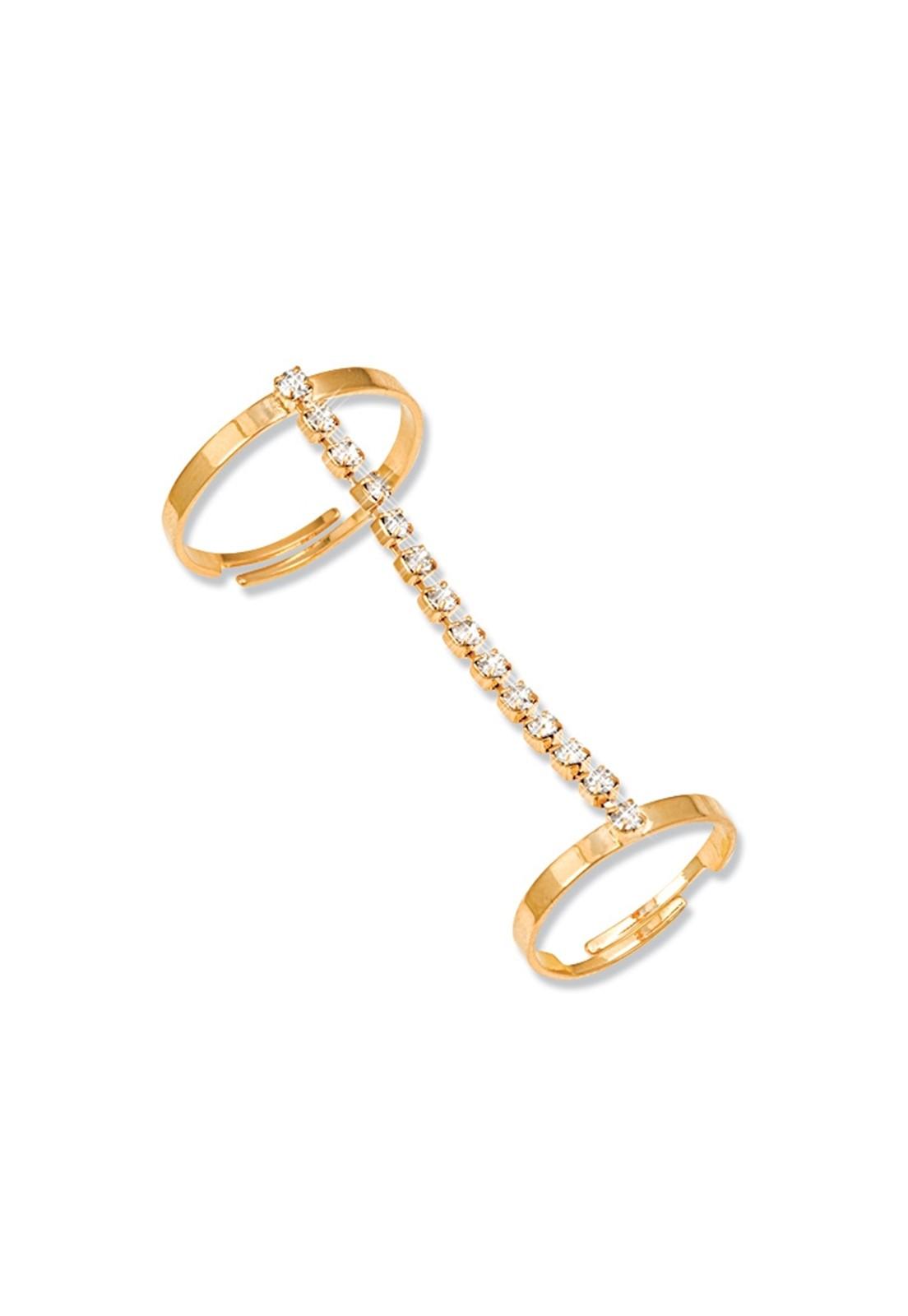 Anel Le Diamond Bella Dourado