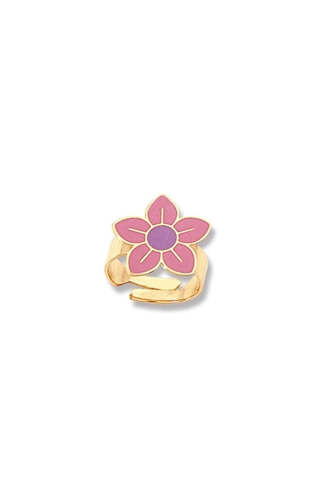 Anel Le Diamond Infantil Flora Rosa