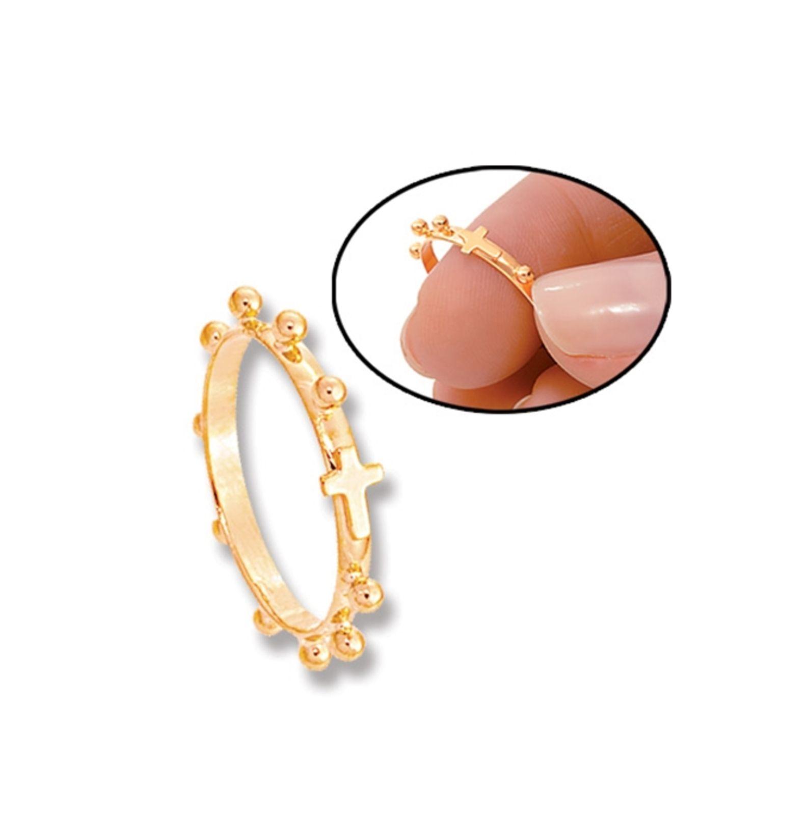 Anel Le Diamond Terço Dourado