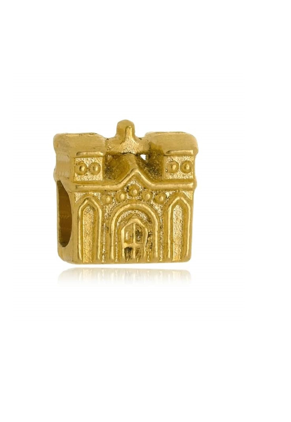 Berloque Le Diamond Charm Castelo Dourado