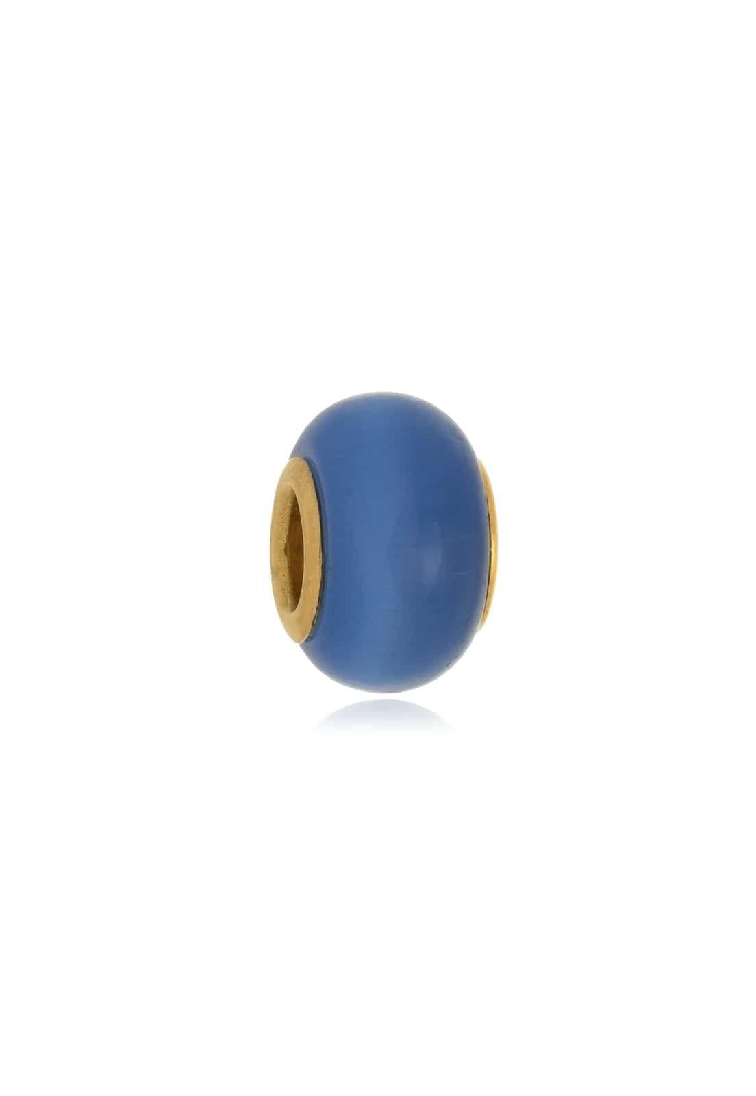 Berloque Le Diamond Charm Cristal Azul