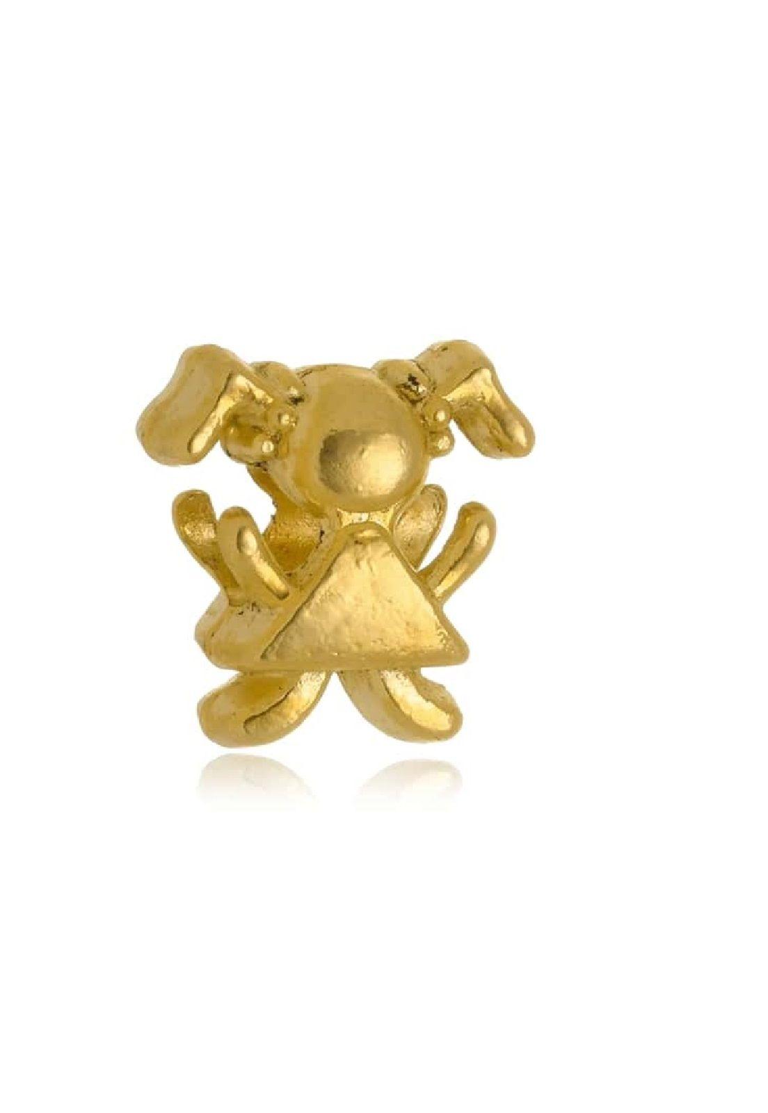 Berloque Le Diamond Charm Menina Dourado