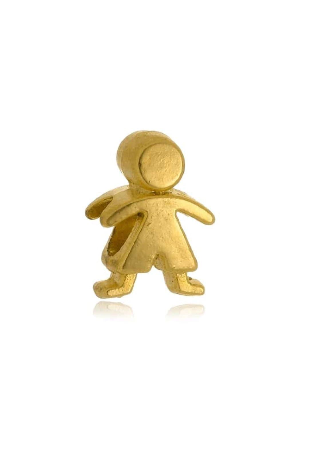 Berloque Le Diamond Charm Menino Dourado