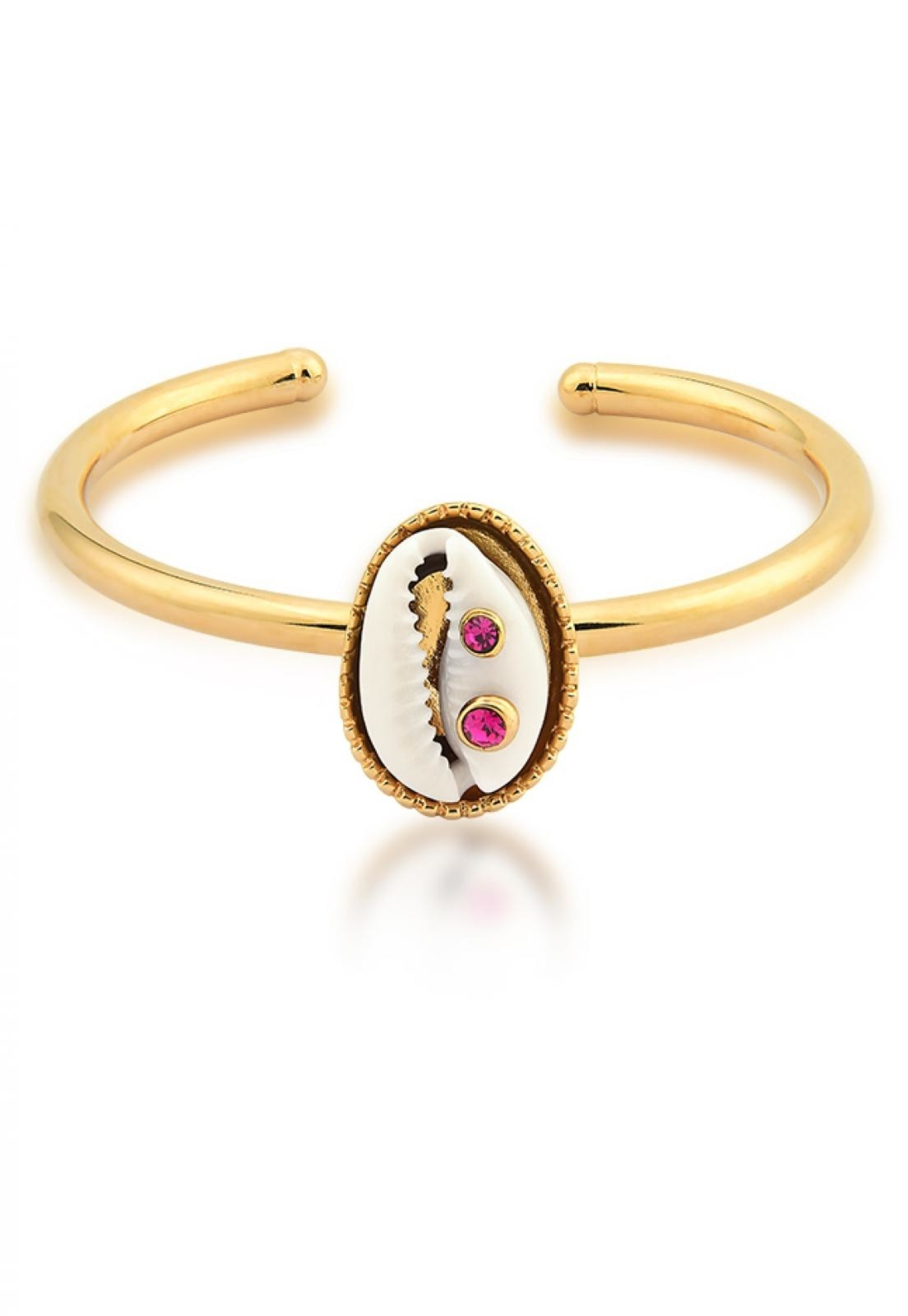 Bracelete Atenas  Le Diamond  Dourado