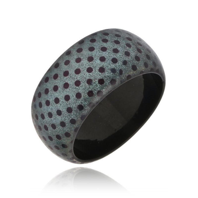 Bracelete Le Diamond Acrílico De Bolinhas