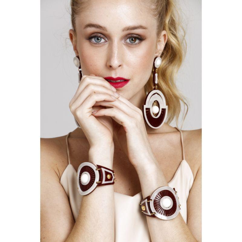 Bracelete Le Diamond Giuliana Bordô