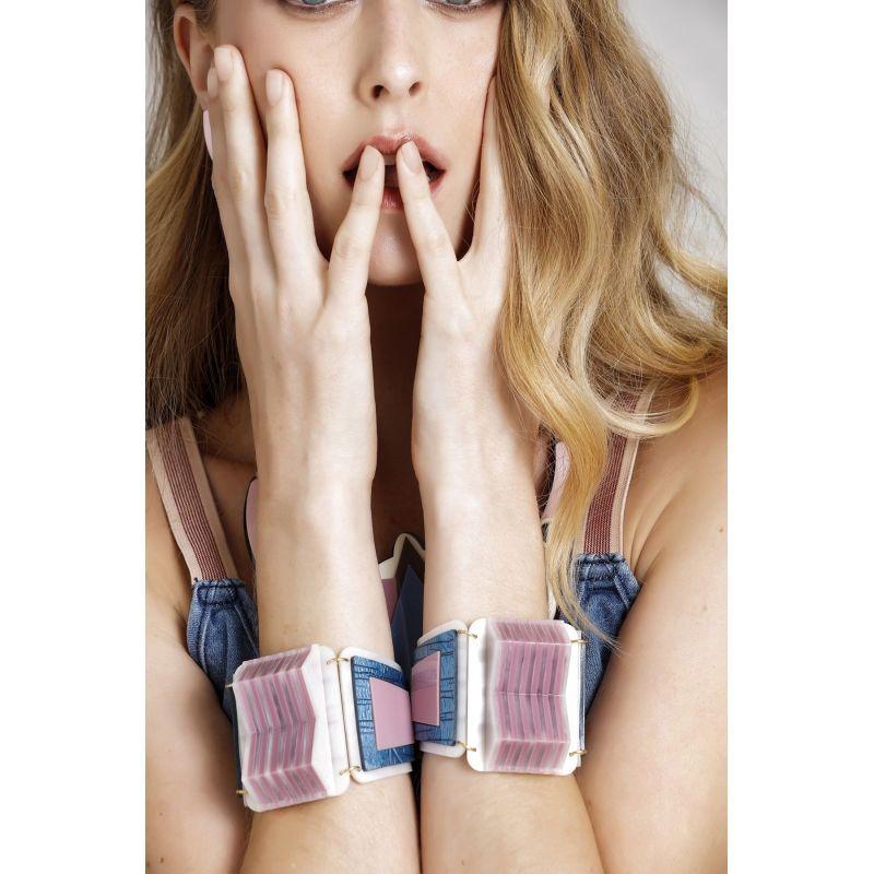 Bracelete Le Diamond Lélia Azul
