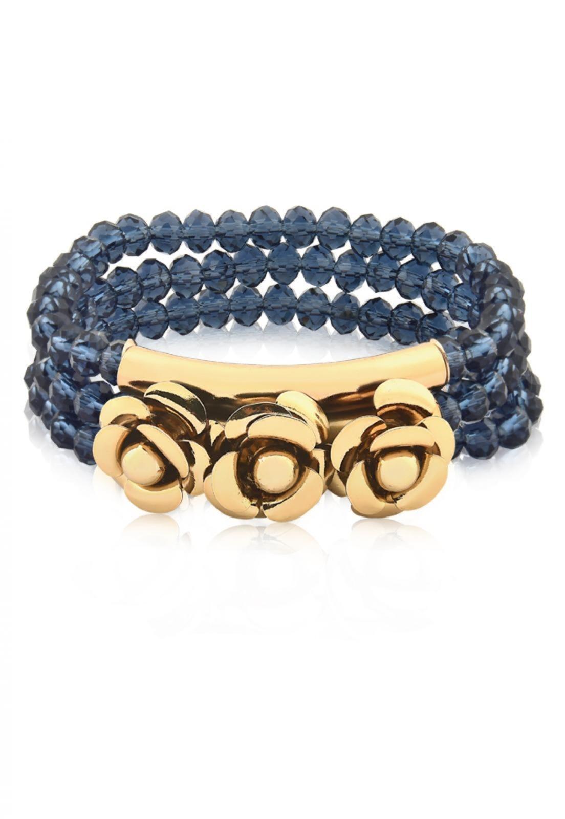 Bracelete Milao - Le Diamond - Azul Montana