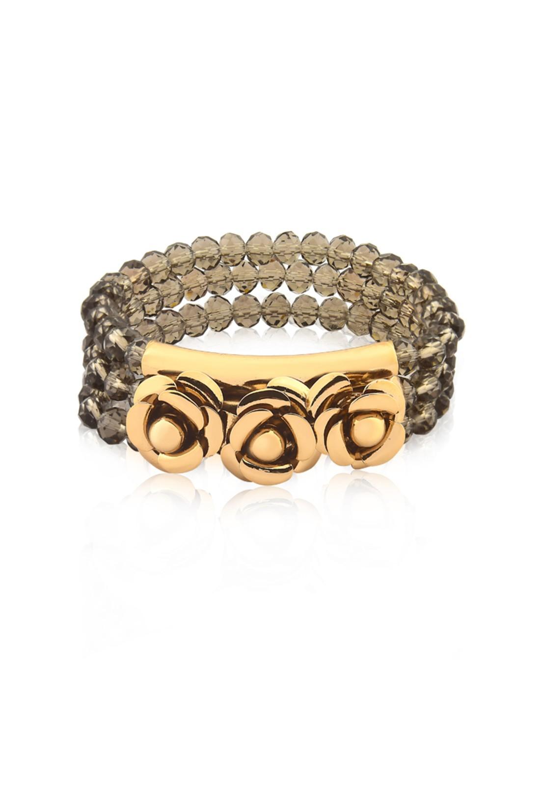Bracelete Milao Le Diamond Fume