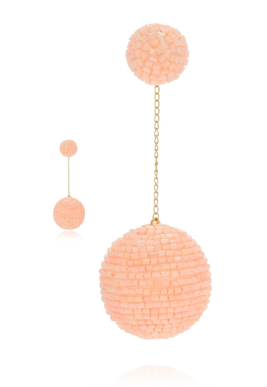 Brinco Le Diamond Bubble Rosê