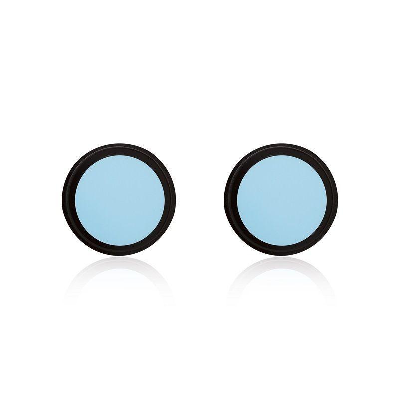 Brinco Le Diamond Circulo Azul