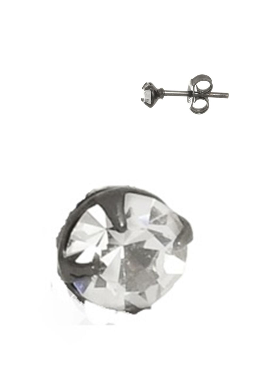 Brinco Le Diamond Ear Jacket Cinza