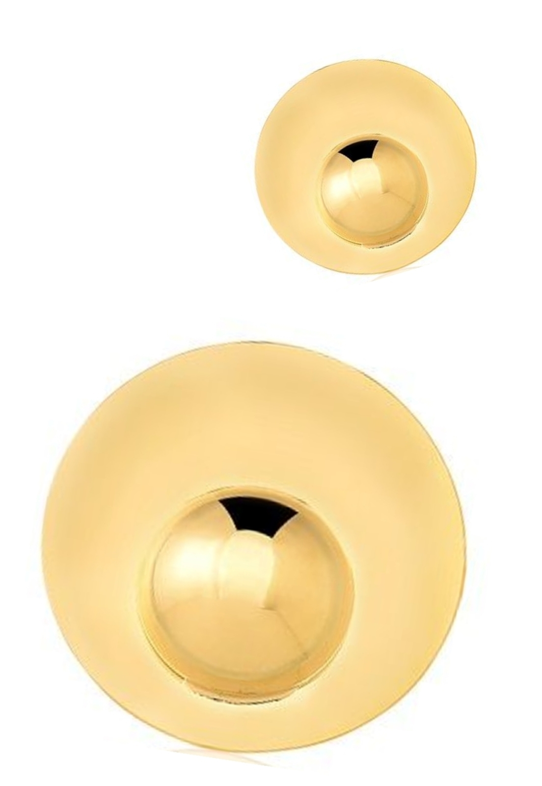 Brinco Le Diamond Esfera Dourado