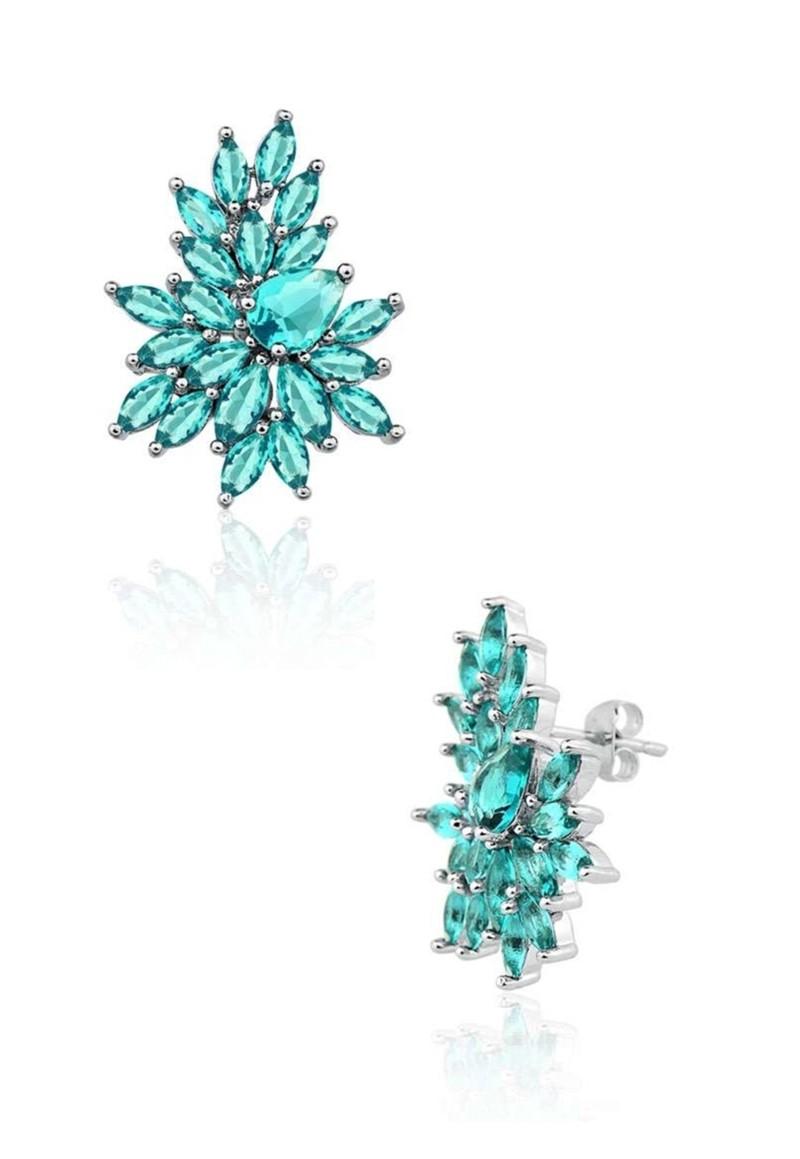 Brinco Le Diamond Gota Verde