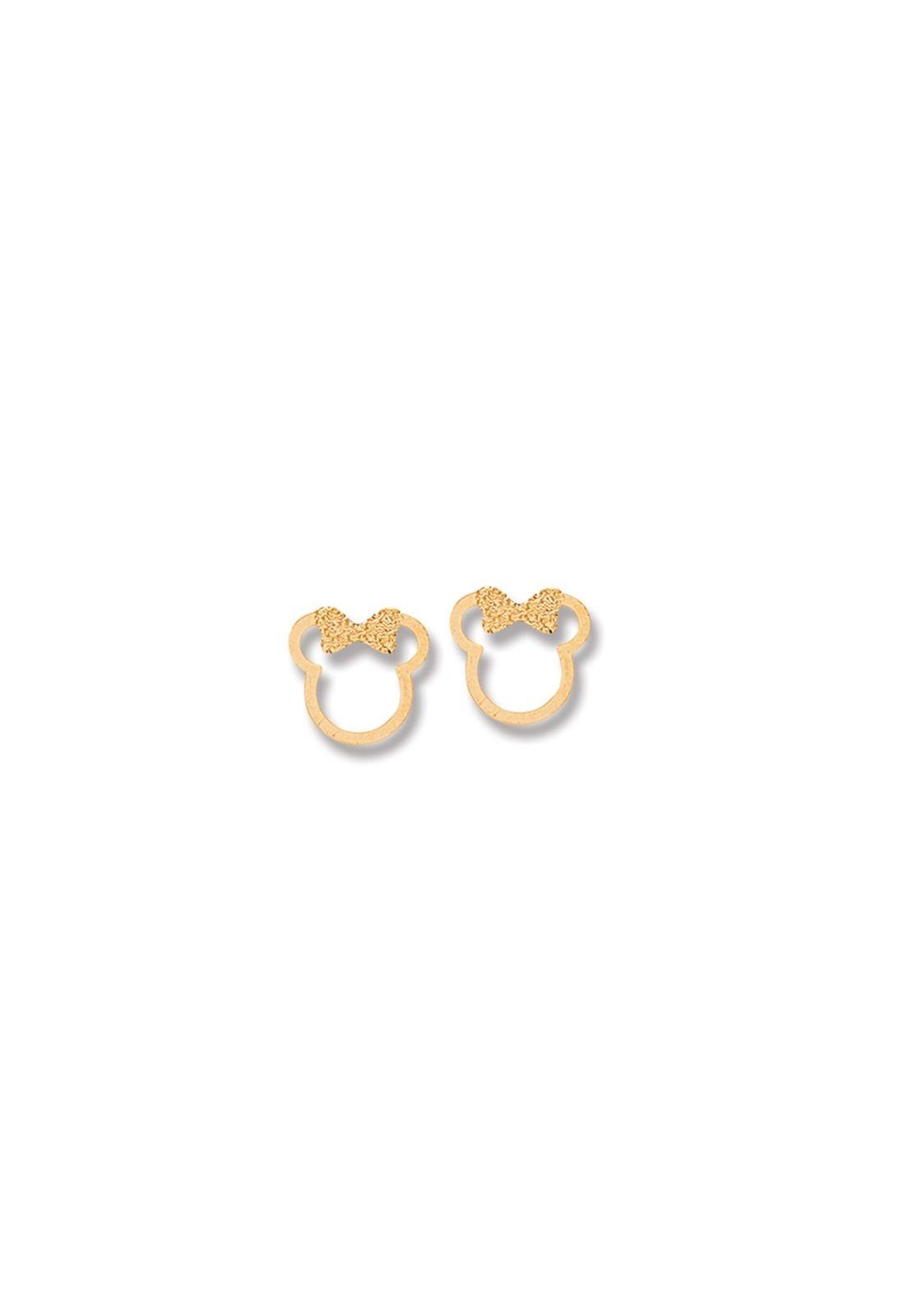 Brinco Le Diamond Minnie Dourado