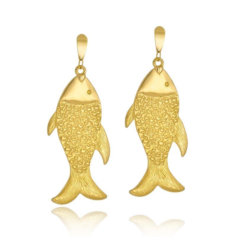 Brinco Le Diamond Peixe Dourado