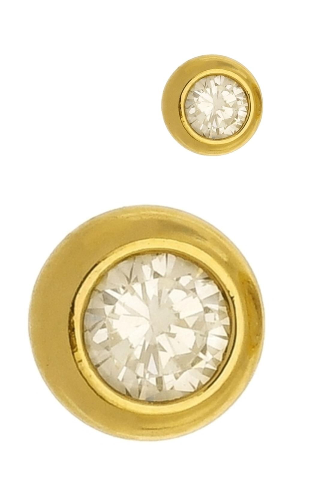 Brinco Le Diamond Ponto de Luz Zircônia