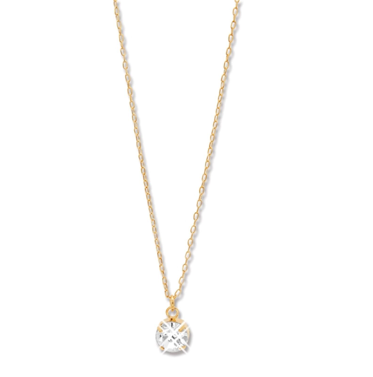 Colar Le Diamond Amarilys Ponto de Luz Dourado