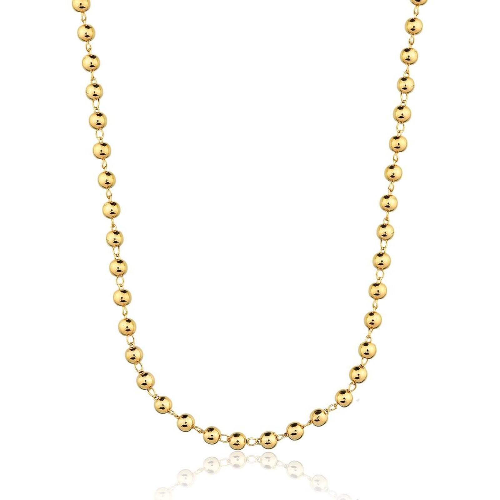 Colar Le Diamond Bolinha Dourado