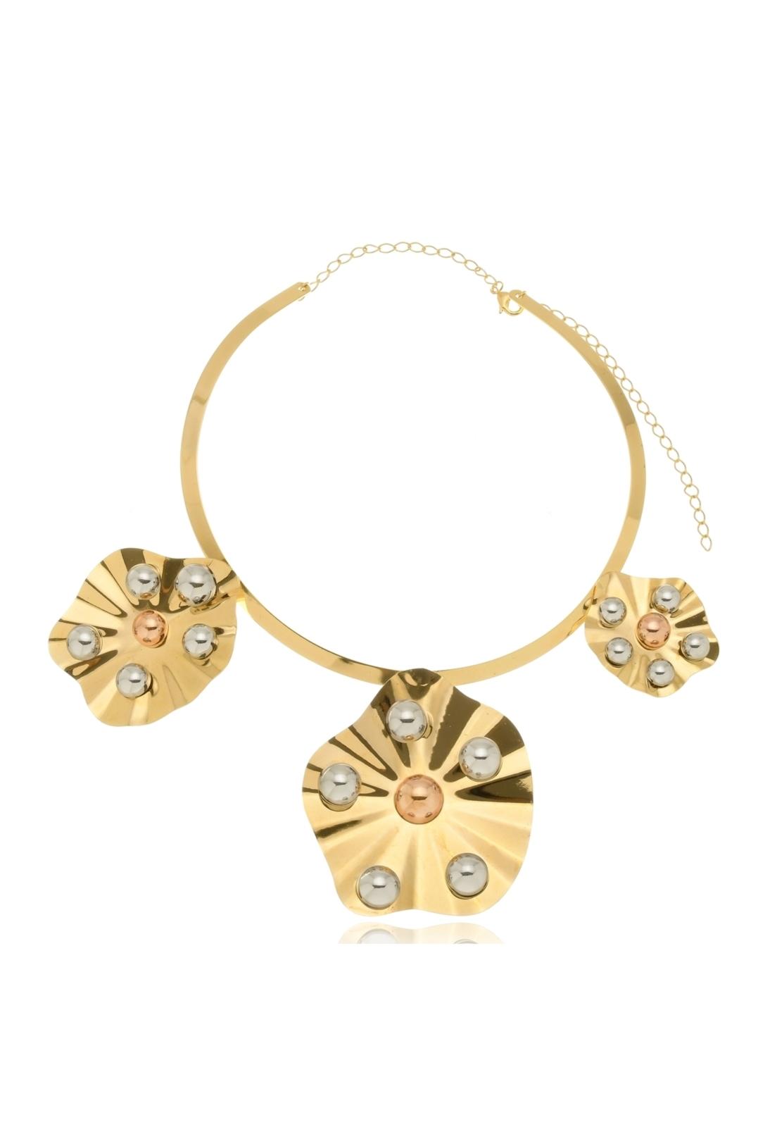 Colar Le Diamond Catânia Dourado