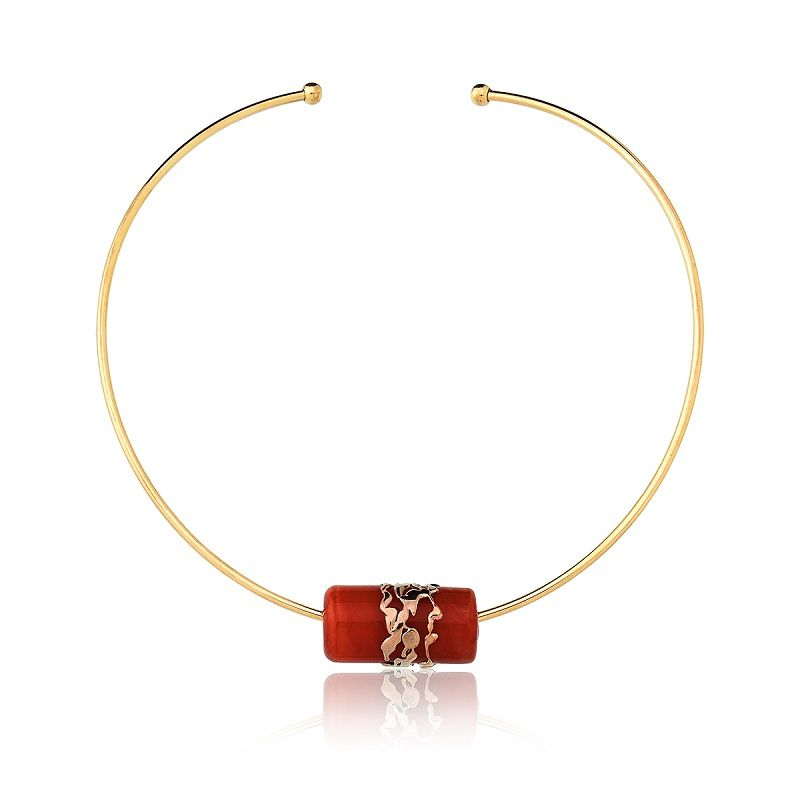 Colar Le Diamond Chocker Pingente Murano