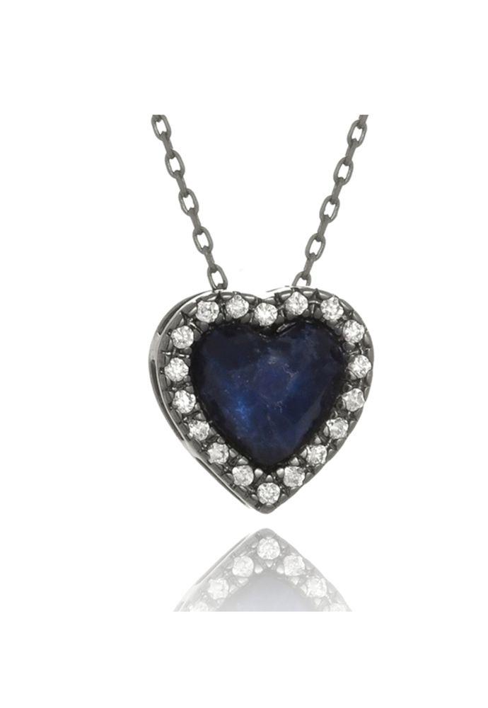 Colar Le Diamond Coração Lapidado