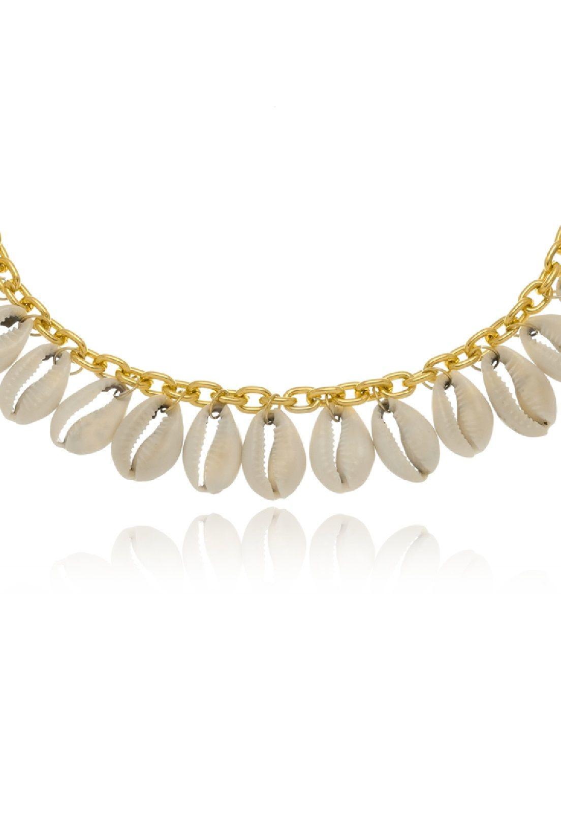 Colar Le Diamond Dourado de Buzios