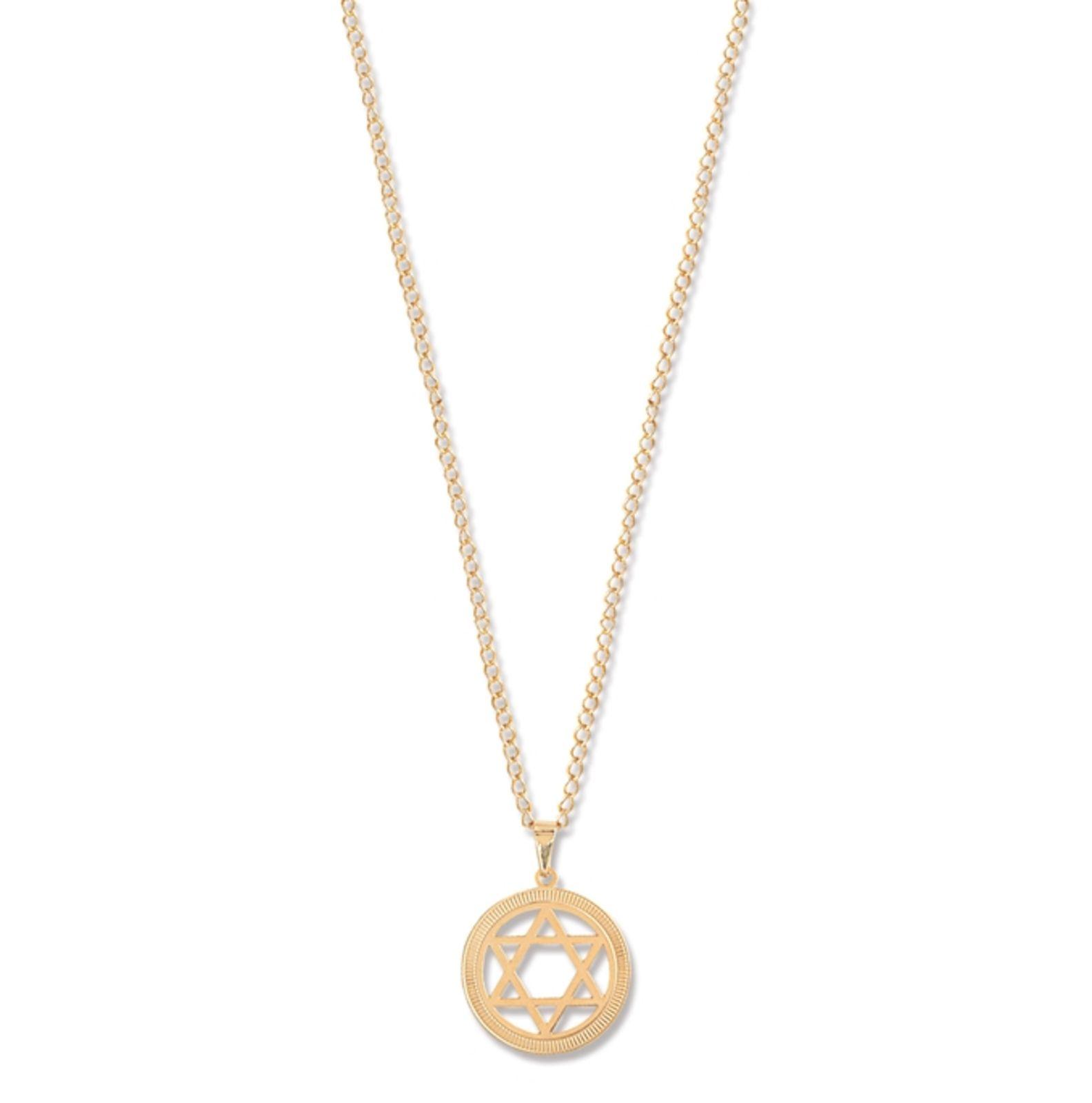 Colar Le Diamond Estrela de Davi Dourado