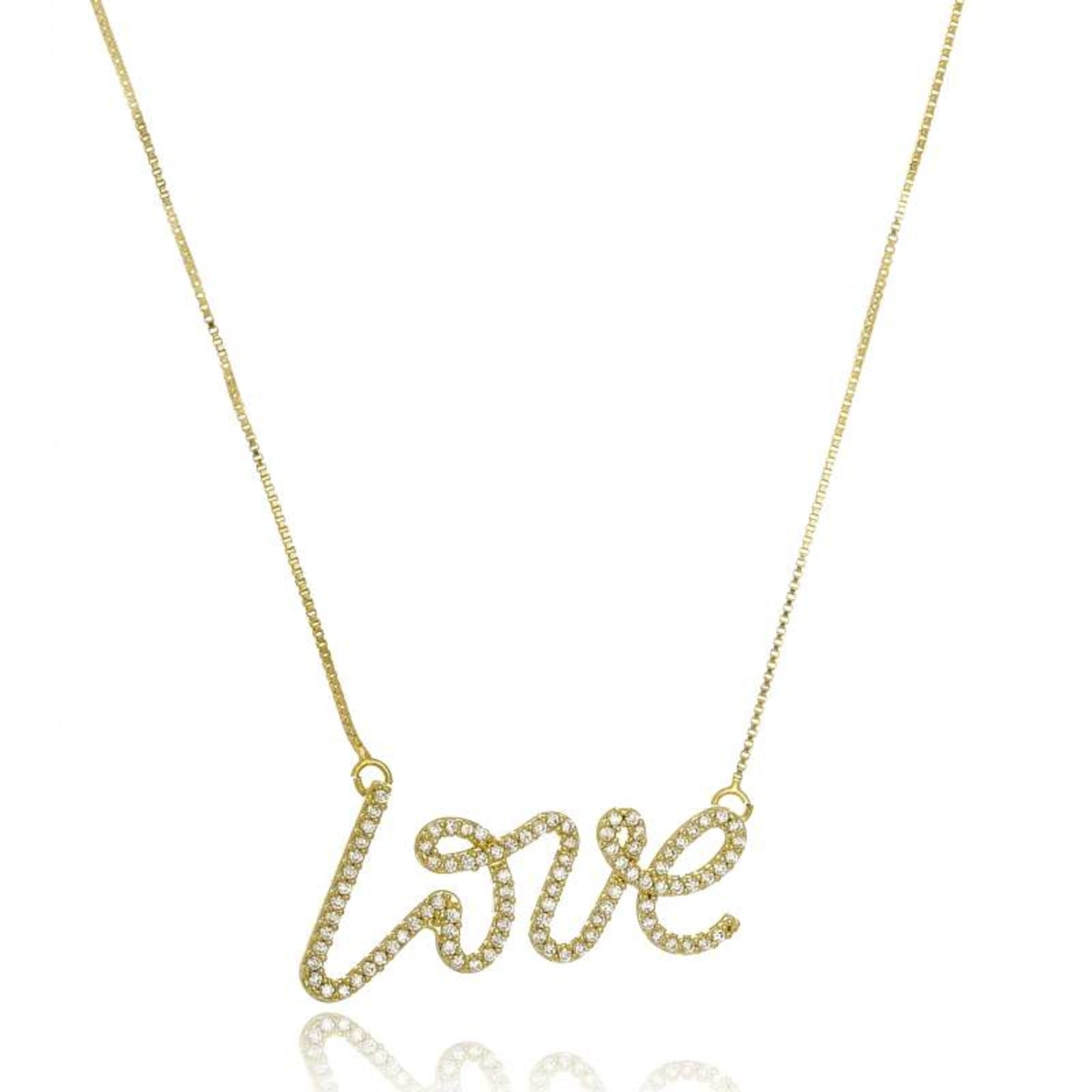 Colar Le Diamond Love Dourado