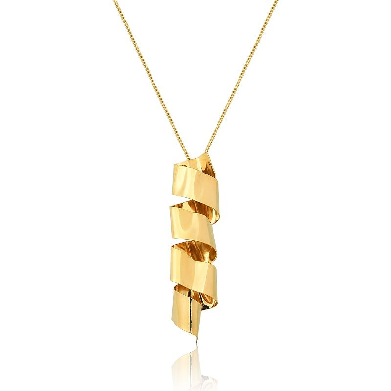 Colar Le Diamond Metal Dourado