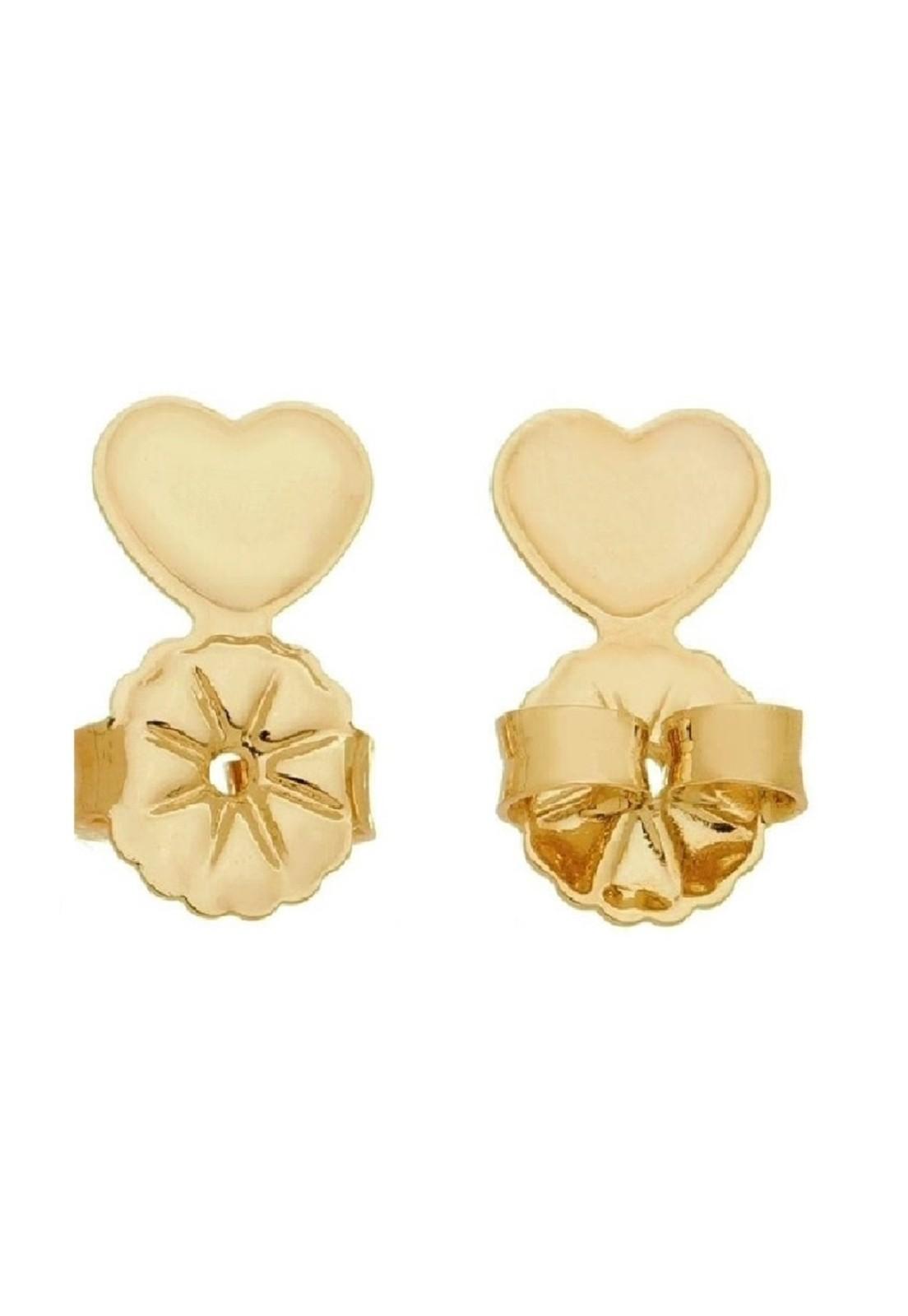 Kit 2 Tarraxa Le Diamond Coração Dourada