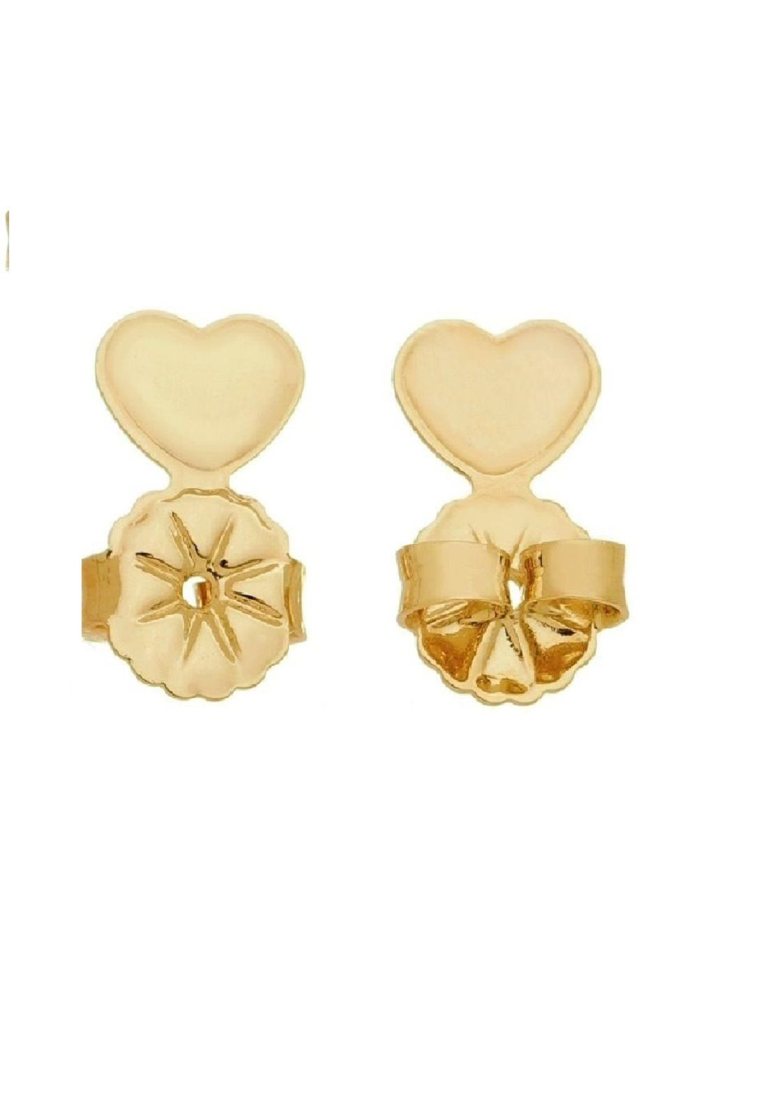 Kit Tarraxa Le Diamond Coração  Dourada