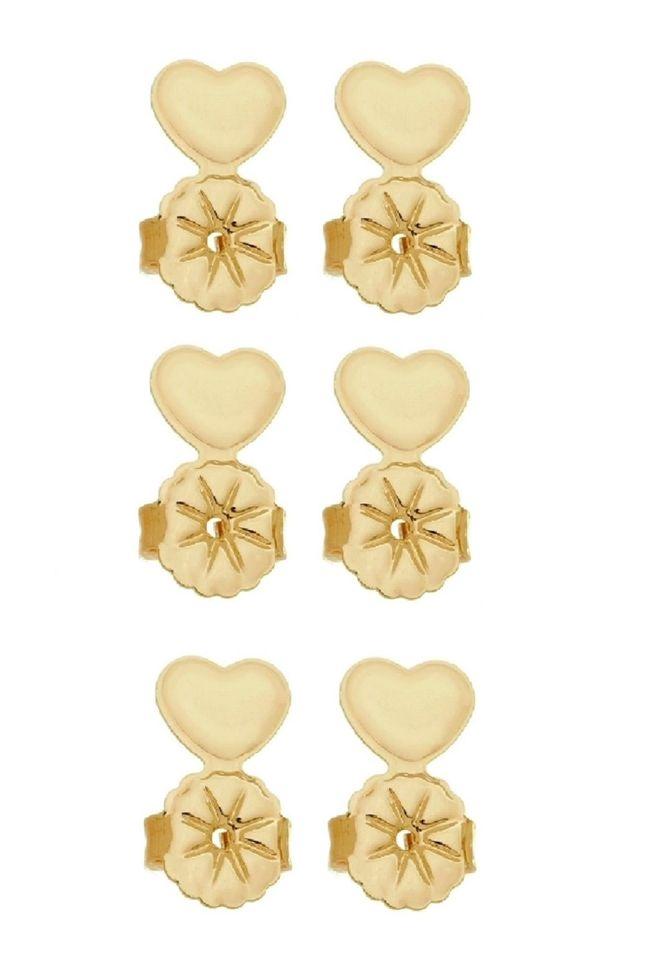 Kit Tarraxa Le Diamond Coração Dourado