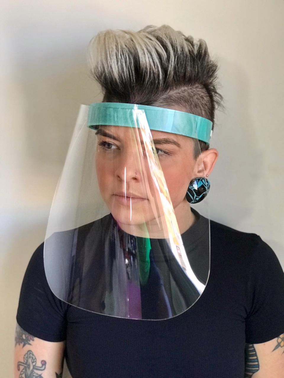 Mascara Le Diamond Proteção Covid-19 Azul Claro