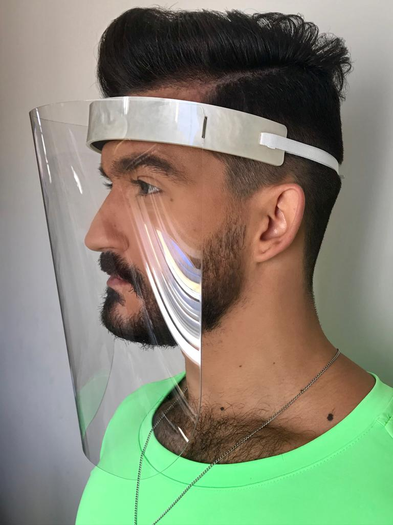 Mascara Le Diamond Proteção Covid-19 Madre Pérola
