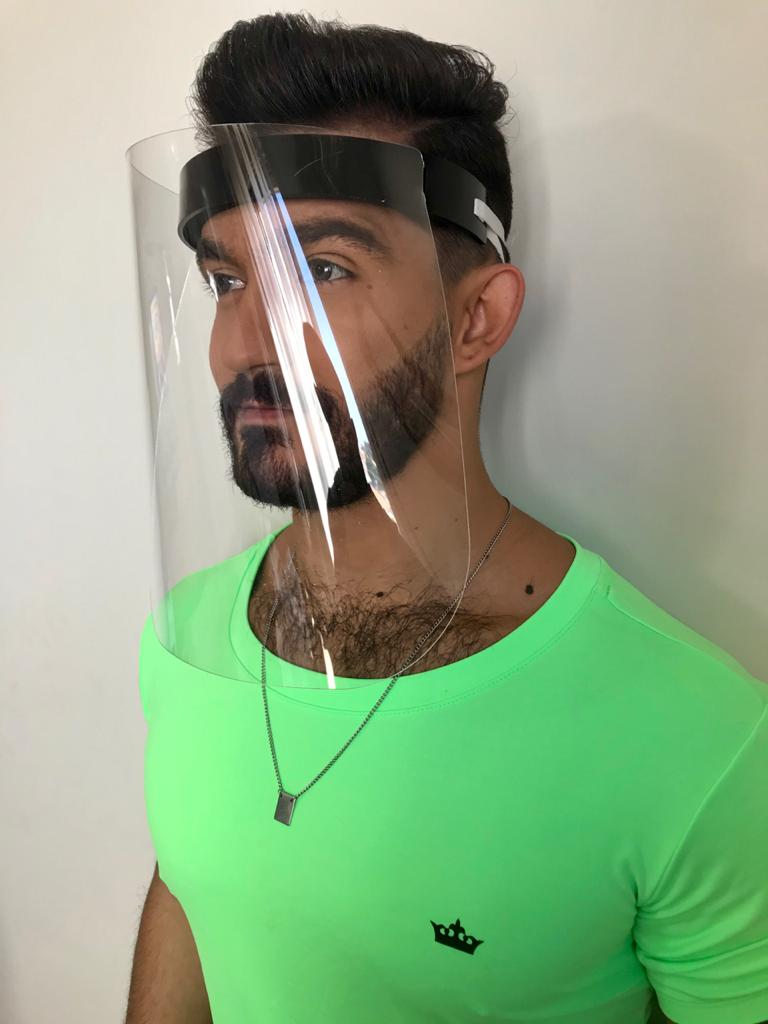 Mascara Le Diamond Proteção Covid-19 Preta