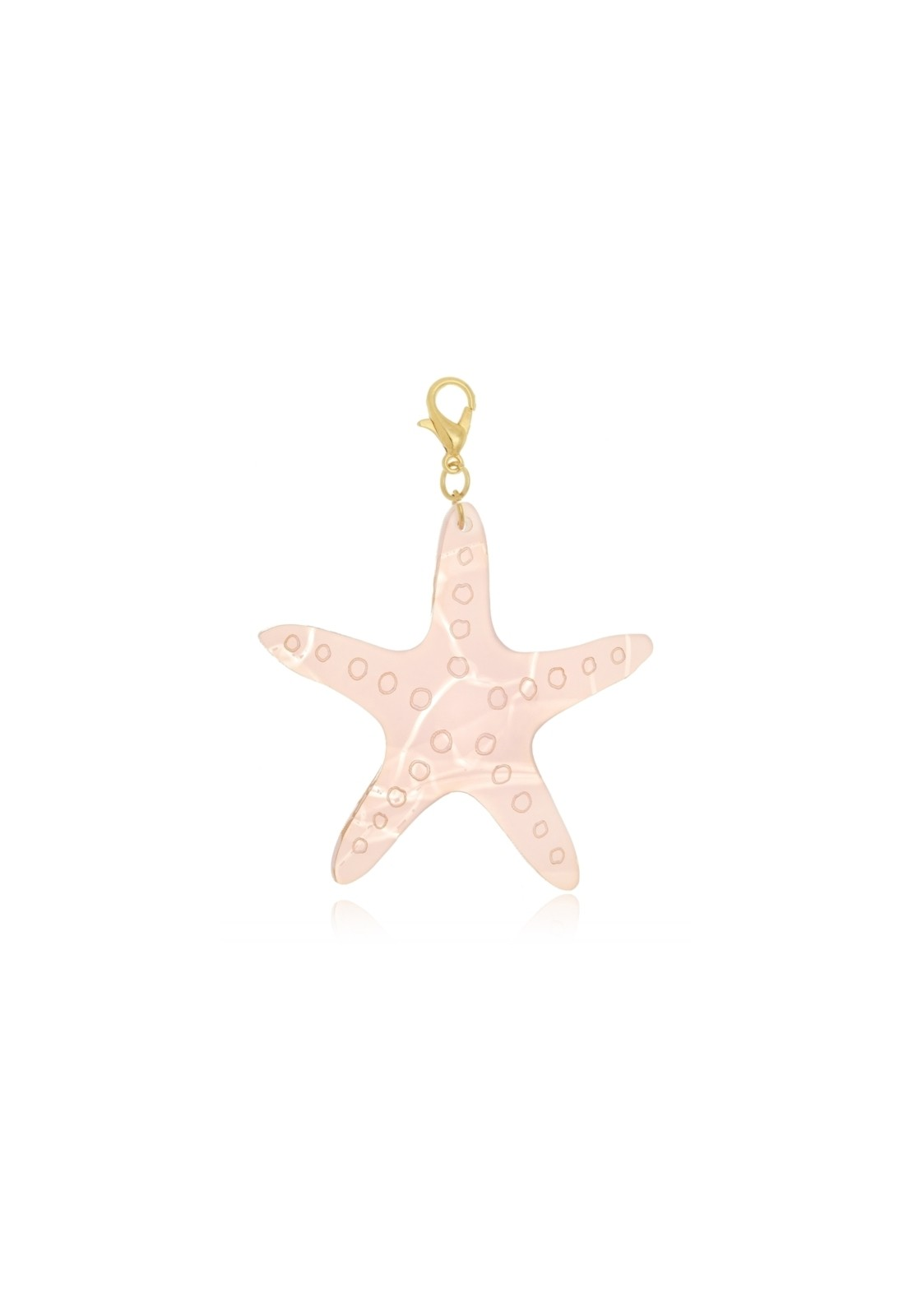 Pingente Le Diamond Estrela Do Mar Rosa