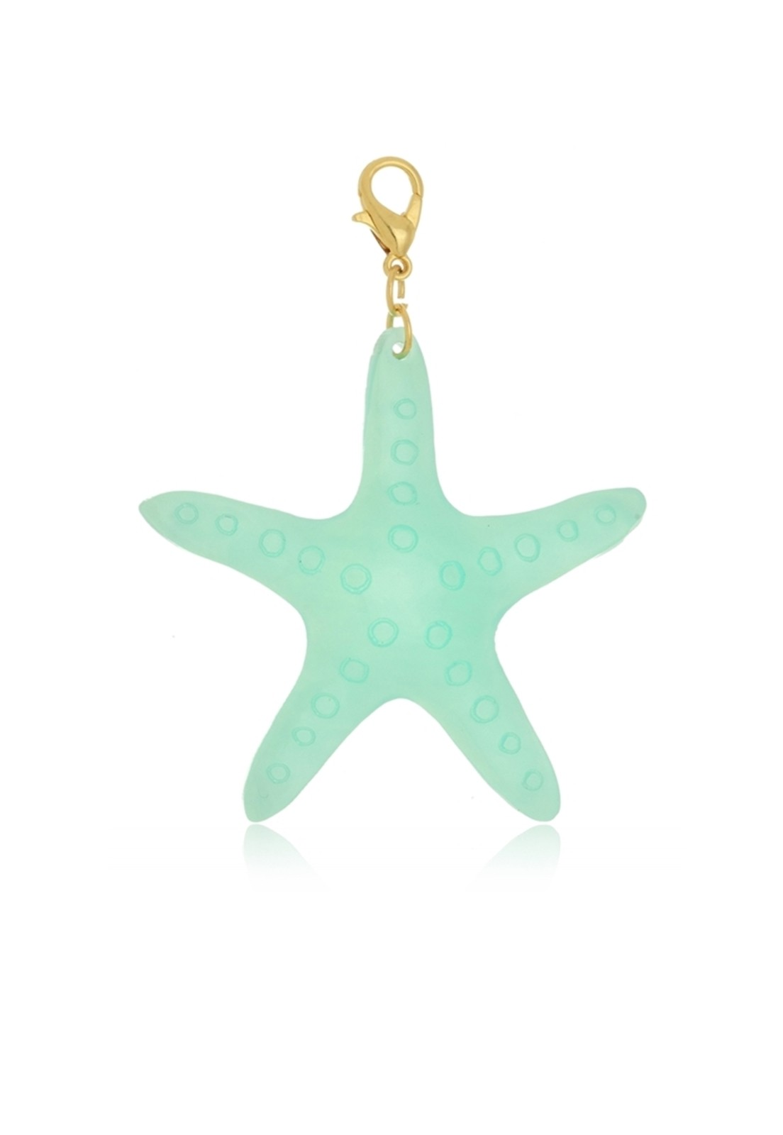 Pingente Le Diamond Estrela Do Mar Turquesa
