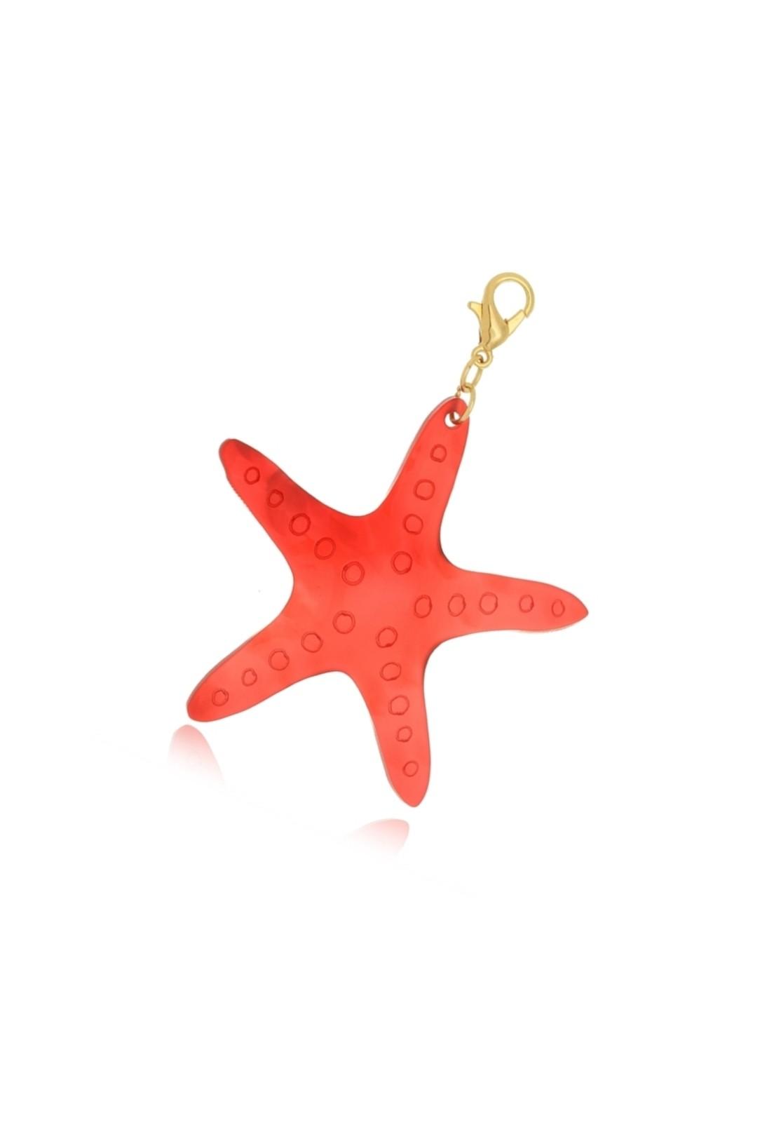 Pingente Le Diamond Estrela Do Mar Vermelha