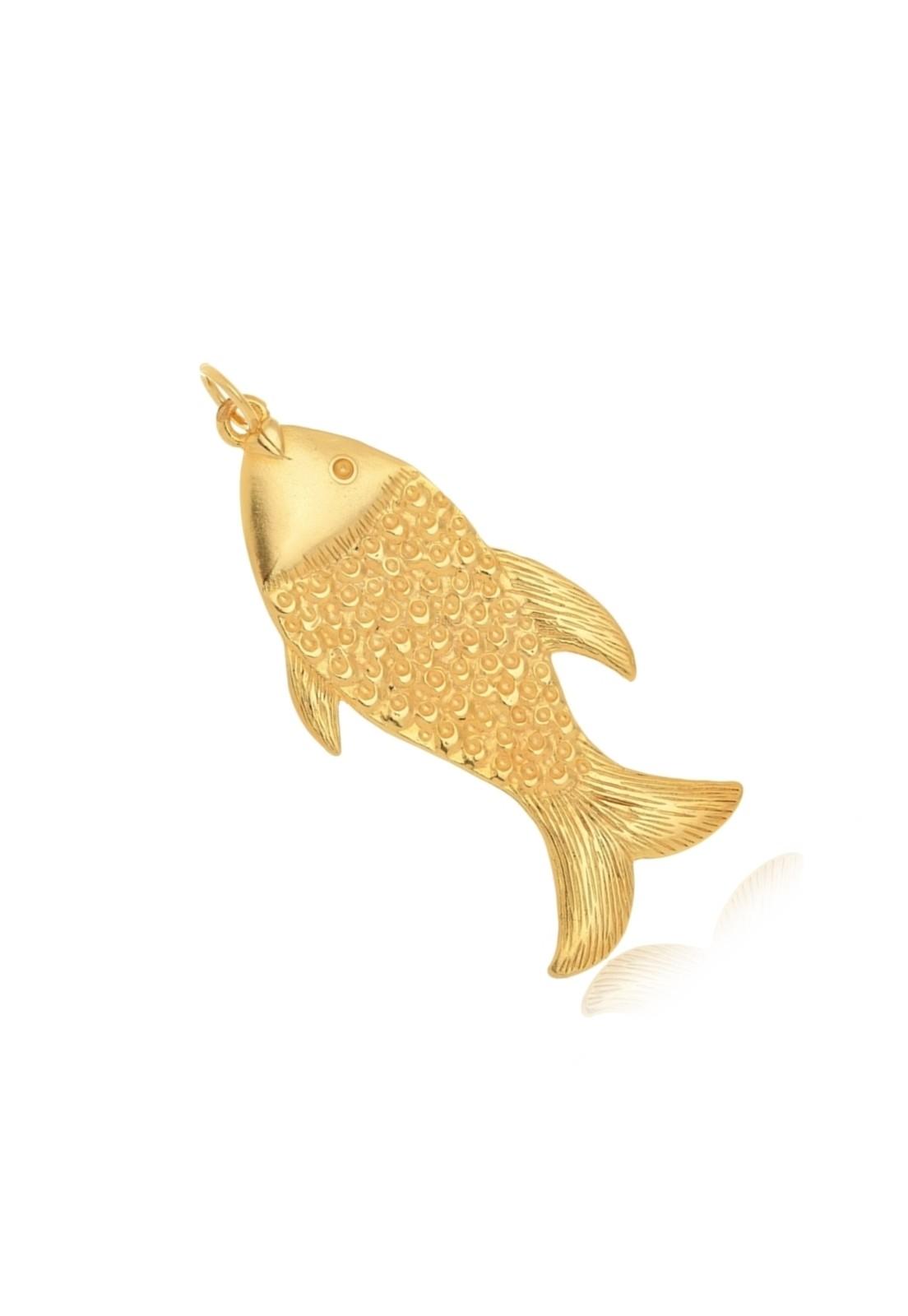 Pingente Le Diamond Peixe Grande Dourado