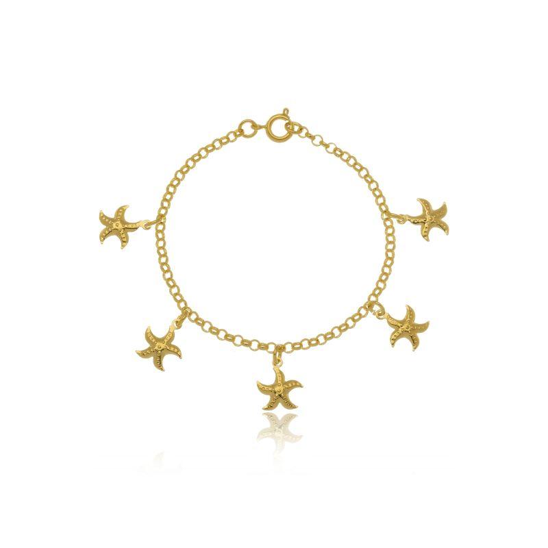 Pulseira Le Diamond Estrelas Do Mar