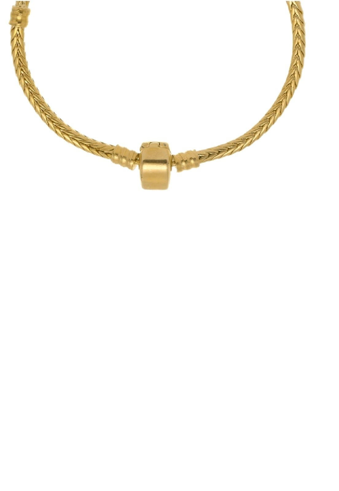 Pulseira Le Diamond para Berloque Dourada