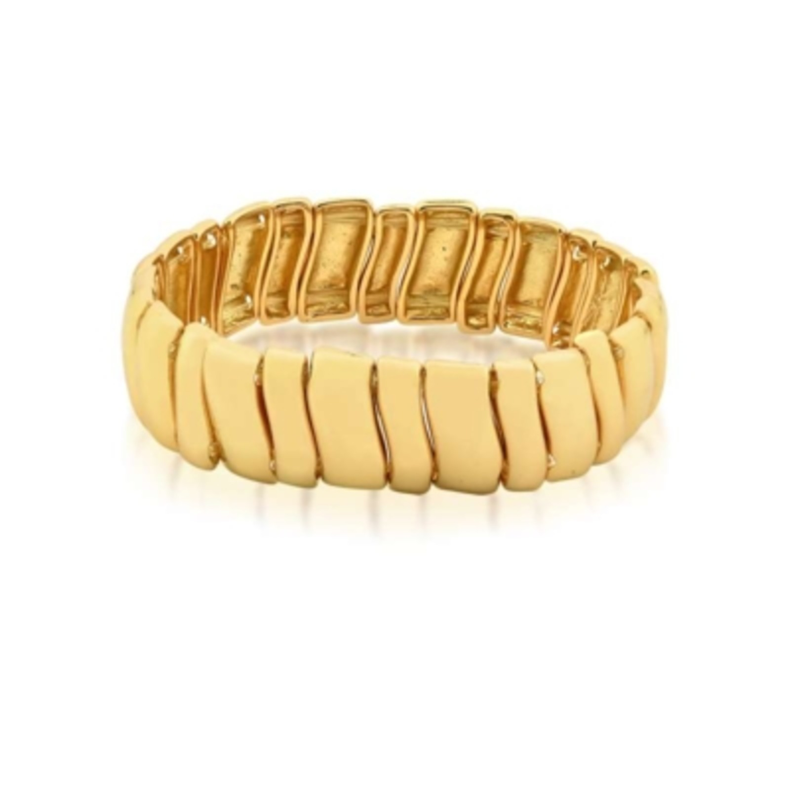 Pulseira Le Diamond Retangulo Dourado