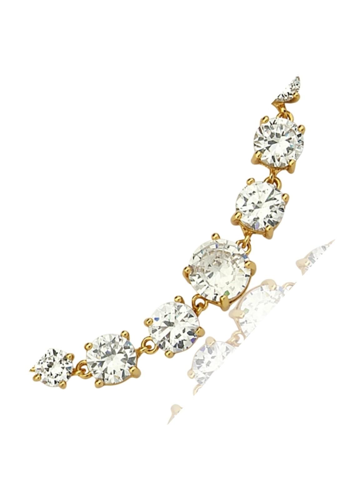 Pulseira Le Diamond Riviera Dourada